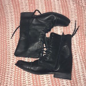 Steve Madden Combat Boots